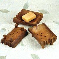 Натуральные деревянные мыльные блюда натуральный ретро деревянный держатель для мыла для мыла для хранения мыла стойки пластинчатая коробка контейнер портативный ящик для ванной комнаты