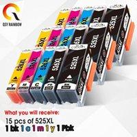 QSyRainbow per Canon PGI 525 CLI 526 Cartuccia d'inchiostro per Canon Pixma IP4850 IP4950 IX6550 MG5150 MG5250 MG5350 PGI-525 CLI-5261
