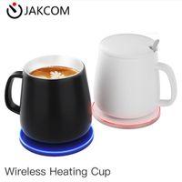 كأس التدفئة JAKCOM HC2 اللاسلكية منتج جديد من شواحن الهاتف الخليوي كما سميكة الزجاج شمعة جرة شاحن سيارة لاسلكي بطارية ليثيوم أيون