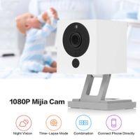 1080p Full-hd Indoor Pequeno Wi-Fi Camera IP Mini Câmera IR Night Vision Micro Movimento Detecção Câmera Apática Controle