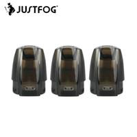 JustFog Mini Fit Substituição de Nevoa PODs 1.5ml Capacidade para MiniFit Cartucho Vape Mod Starter Kit