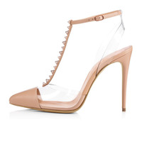Best Selling Shoe Heel Women PVC Point Pict Toe Tacco alto Scarpe Femminile Scelte Designer Scarpe Designer Scarpe Formali Indossare Sexy Pompe Pompe Scarpe Slipper all'ingrosso