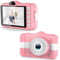 Mini appareil photo numérique de 3,5 pouces Cartoon caméra mignon pour enfants 12MP HD 1080P Photo Video Enfants Caméra cadeau d'anniversaire pour les enfants