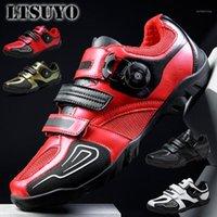 Велоспорт Обувь Ltsuyo Мужской Велосипед Профессиональная езда Шулаки беспомощные Горные велосипедные Обувь гоночный тренинг Out Road Road Shoe1