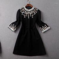 Ofis İşleri Elbiseler 2020 Yeni Yüksek Kalite Bahar Kısa Parti Elbise Moda Eğilim Kadın Giyim Muhteşem Rahat Kış Dress1