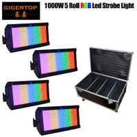Novo Chegou LED 1000W Luz Estroboscópio RGB All Color 1000 LEDs para Disco DJ Pub Festa de Casamento Estágio Estroboscópio Luz LED Flash Light