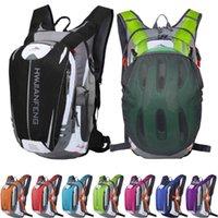 أكياس في الهواء الطلق 18L الرياضة حقيبة تسلق المشي لمسافات طويلة تشغيل دراجة الدراجات حقيبة خفيفة دراجة حقيبة ماء الترطيب