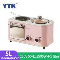 3 in 1 Electric Home Frühstücksmaschine Mini Brot Toaster Ofen Omelett Bratpfanne Hot Pot Dampfkessel1