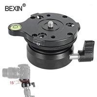 ترايبود رؤساء الكاميرا رئيس عالمي ضبط قاعدة تعديل نصف الكرة قابل للتعديل ل dslr كاميرا 1