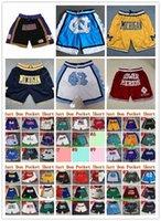 NCAA North Carolina Tar каблуки баскетбольные шорты просто Мужской Дон Мичиган Росомахи Black Mamba Нижняя Мерон Средняя Карманные штаны