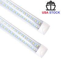 Crestech en forma de V 25pcs 8ft 2.4m 100W Tubos LED T8 Integrado V Shape Tubos LED LED LED LIGHT LED 85-265V