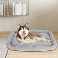 """[HOBBYZOO] 51 """"كبيرة الحجم الكلب الحيوانات الأليفة سرير الحيوانات الأليفة حصيرة وسادة رمادي"""