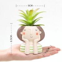 Flowerpot Succulent Plants Flower Bonsai Cactus Planter Pots Wedding Birthday Gift Ideas Home Decor Craft 4 N3OOD