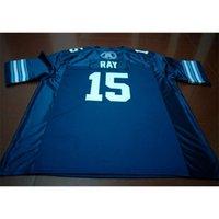 Benutzerdefinierte 888 Jugendfrauen Vintage Toronto Argonauts Ricky Ray # 15 Football Jersey Größe S-4XL oder benutzerdefinierte Neiner Name oder Nummer Jersey