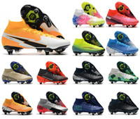 حار رجالي Superfly 7 VII 360 Elite SE SG-PRO AC Daybreak CR7 Ronaldo Neymar Jr. نساء كرة القدم أحذية كرة القدم المرابط US6.5-11