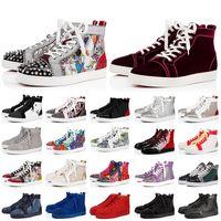 2020 lüks erkek kadınlar için dipleri ayakkabıları bize düz rahat ayakkabılar alt moda eğitici spor ayakkabılar EUR kırmızı 13 tasarımcı platformu boyutu kırmızı 47