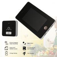 Video-Tür-Telefone Wireless-Peephol-Türklingel-Digital-Viewer-Sicherheitsfarbe LCD-Bildschirm-Kamera-Monitor-App-Steuerung1