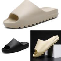 H6ATV-Hausschuhe West-Rutschen Schaumläufer-Wüste Sandwüste-Anhänger Black Triple Hohe Qualität Slipper Knochen Weiß Harz Slide Sandale