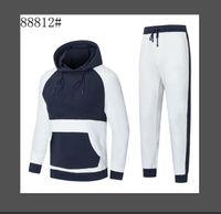 Diseñador de la marca de los hombres Traje de deportes de lujo de la moda de la moda Italia Marca diseñadora de hombres Luxury Trajes de lujo Survetement Homme Tamaño M-3XL