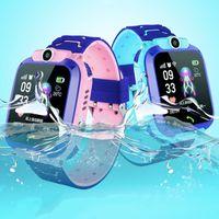 Q12 Kinder Smart Watch Kinder-Armbanduhr wasserdicht mit LBS Tracker SOS Kamera SIM-Anruf für Android-Smartphone PK DZ09 Q528 Smartwatch