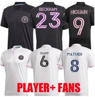 Jeux Version 2020 2021 MLS Inter Miami CF Soccer Jerseys 20 21 Higuain Trapp Pizarro Pellegrini Matuidi Beckham Hommes Chemises football enfants