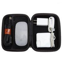 더플 가방 여행 저장 가방 디지털 계산기 여행 주최자 케이스 USB 플래시 드라이브 데이터 케이블 가제트 Bagget