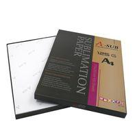 A4-Größe Sublimationspapier 100 Blatt Wärmeübertragungspapier für jeden Tintenstrahldrucker, der mit Sublimation übereinstimmt