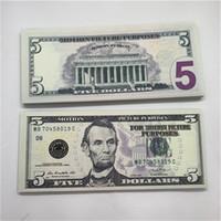 에디션 새로운 소품 동전 5 기념 할로윈 해적 USD 게임 표시가없는 동전 통화 위조 동전 종이 골드 F25 SJLKN JTPGV