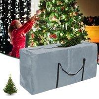 크리스마스 트리 스토리지 가방 방진 커버 방수 대용량 퀼트 옷 창고 저장 가방 도구 구성