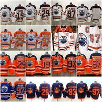 29 Leon Draiseaitl 2020 عكس الرجعية جيرسي إدمونتون زيتون 97 كونور ماجدافيد 99 وين Gretzky 93 ريان نوجنت هوبكينز ميكو كوسينين