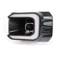 LED-Tagfahrlicht-Fall für Toyota Hilux Revo Rocco 2020+, weiße Front-Stoßfänger-Scanning DRL + -RoMer gelb Blinker