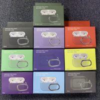 100pcs / cubierta de silicona caso para Apple AirPods favorable caso Sticker Bluetooth caso de AirPod 3 para vainas Air Pro Accesorios para auriculares