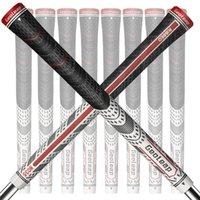 Geoleap Golf Grips 10pcs / lot, espalda Ribmulti Compuesto Hybrid Golf Club Grips, Estándar, 7 Color. Envío FRESS 201029