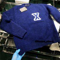 21 ss Herren Womens Designer Pullover Briefe Pullover Männer S Hoodie Langarm Sweatshirt Stickerei Strickwaren Winterkleidung 2021