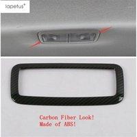 Lapetus Aksesuarları Corolla için Fit 2019 2020 ABS Arka Koltuk Çatı Üst Okuma Işıkları Lamba Çerçeve Kalıp Kapak Kiti Trim1