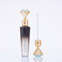 3ml Diamond Lip Gloss Tubes Fashion Clear Empty Lip Gloss Tu...
