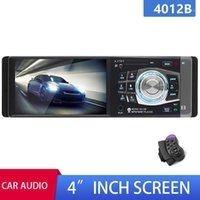 Car Radio 1Din MP5 Stereo Support USB UDisk Card play AUX FM Bluetooth Handsfree Rear View Camera Steering Wheel AutoRadio1