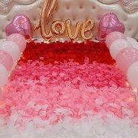 Декоративные цветы венки Voiley 500 шт. Лепестки из искусственной розы для свадебных вечеринок. Романтический цветочный цветок, B1