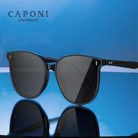 CAPONI 패션 선글라스 여성 보호 눈 UV400 높은 품질 나일론 lense에 빈티지 태양 안경 2020 새로운 여성 안경 CP7456