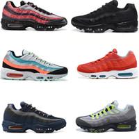Max 95 2020 الرياضية حذاء رياضة 95 I8 أحذية الرجال الكلاسيكية Tripel أبيض أسود المرأة الاحذية وسادة أصيل المدربين حجم 5،5 حتي 12