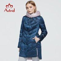 Kadın Aşağı Parkas Astrid Ceket Kış Kadın Ceket Rahat Kadın Kapüşonlu Mont Katı Ukrayna Artı Boyutu Moda Stil ZM-5810
