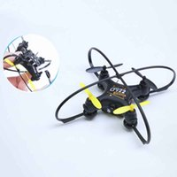 Mini drone avec poche de caméra HD wifi rc quadcoptère selfie pliable drron drone enfants en plein air