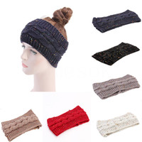 Knitted Crochet Headband Women Winter Sports Hairband Turban...