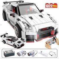 1322pcs Creator City Remote Control Sports Vehicle Building ...