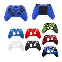 Caso de silicone gamepad suave para Xbox SX Anti-Slip Suor Game Lidar com Caso de Silicone Case Protetora 7 Estilos