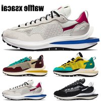 2021 Новая вафля XSACAI 2.0 Мужская беговая обувь Спорт Fuchsia Game Royal Black White Tour Желтый стадион Зеленые Моды Мужчины Женщины Кроссовки