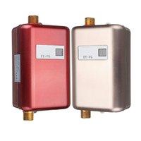 Freeshipping 3800w Chauffe-eau Mini Sans réservoir Cuisine Hot Cuisine Chauble Chauffage Thermostat US Plug US Intelligent Energie Économie imperméable