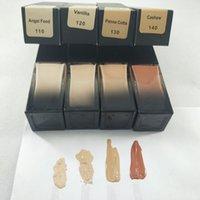 재고! 4 색 재단 리퀴드 파운데이션 긴 착용 방수 천연 매트 페이스 컨실러 무료 배송