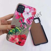 Cas de phone de concepteur pour iPhone 12 Pro Max 11 11Pro 11Pro 11Proxax 7 8 plus XR XS XSMAX Coque en cuir PU Luxe Samsung Shell S10 S20 S20P S20U Note 20 Ultra 10p