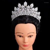 Clips Cheveux Barrettes Tiaras et Crowns Hadiyana Classic Mode Design Accessoires de mariée Anniversaire Femmes de mariage BC5070 Princesa1